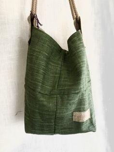 Un favorito personal de mi tienda Etsy https://www.etsy.com/es/listing/473635279/bolso-jonas-lino-verde