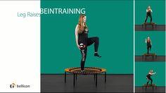 Die Inspiration für Ihr nächstes Training: In unserer neuen Videoreihe zeigen Ihnen vier Trainer je vier Übungen zu einem speziellen Anwendungsgebiet des bellicon® und geben Ihnen neue Impulse und Ideen. Diesmal zeigen wir vier Übungen, die Ihre Beine brennen lassen! Trainieren Sie Po und Oberschenkel und bringen Ihre Beine sanft in Form. Die Übungen sind für Anfänger und Fortgeschrittene geeignet und alles was Du an Zubehör benötigst ist ein bellicon® Minitrampolin.