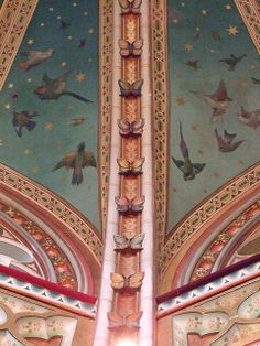 Castle of Coch, Cardiff. Designed by William Burges