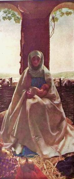The Morning Of The Nativity - Thomas Cooper Gotch