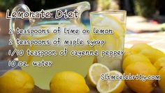 TheLemonade Diet Recipe and Instructions Guide