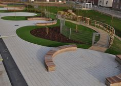 Courtyard Endeavour Primary School | Garsy NV- Andover Hampshire United Kingdom