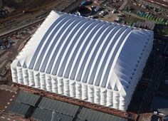 """2012 London Olympic Games will use a """"recyclable"""" Basketball Stadium."""