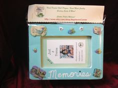 Memories Decorative Picture Frame by ReprievesCorner on Etsy, $9.99