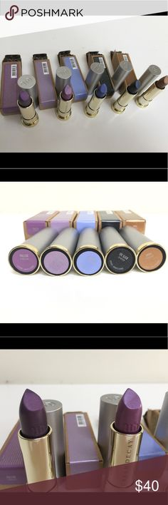 BUNDLE of 5 Urban Decay Vice VINTAGE 💄 👄lipstick Rare Vintage Collection of Urban Decay's original colors re-released from the 90's! Perfect for festivals, Halloween and the Holidays! Bundle of 5 sold together. All have been color swatched except Oil slick, but brand new besides being swatched. Still in boxes. Sold at retail for $18 each super fun for your makeup arsenal! Urban Decay Makeup Lipstick