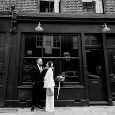 Micro weddings with major love 🖤 exceptional bridal style captured by Joanna Brown Wood Pigeon, Pub Wedding, London Pubs, Creative Wedding Photography, Felt Hearts, Bridal Style, The Dreamers, Documentaries, Weddings