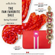 HUGE FLASH SALE at Stella & Dot--48 Hours ONLY!  Dying for the gorgeous Becca Bracelet at 50% off--eeeeeee!