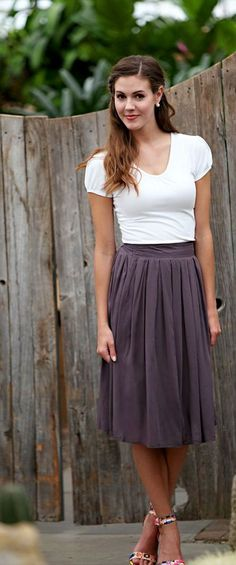 MSF1980 - Cotton Skirt