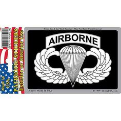 DECAL, US ARMY AIRBORNE