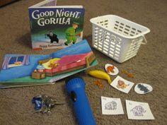 Goodnight Gorilla retell (Learning is Messy)