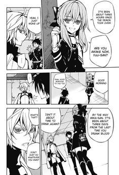 Read manga Seraph of the End 043 online in high quality