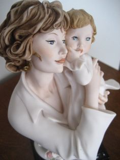 """All time favorite figurine is Precious One, 1652F, a Giuseppe Armani Mother and Child Figurine created for 2003 Mother's Day. Measures 7.75"""" in height, made in Italy; retired and limited. Mint condition in original box and packaging at The Blue and White Cottage @ www.theblueandwhitecottage.com.  Only one left!"""
