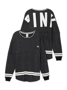 Varsity Crew - PINK - Victoria's Secret This may be same as the purple but it's also nice in this dark grey