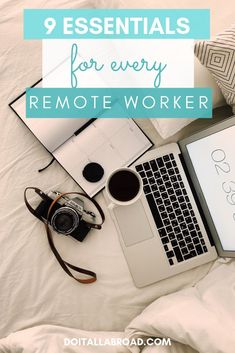 These are the things that every digital nomad needs! If you work remotely, you will be more productive with these things! #productivity #digitalnomad #remotework #remoteworker
