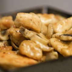 Marsala is one of my favorite Italian dishes to make and using sous vide chicken guarantees fully cooked and tender meat. - Amazing Food Made Easy