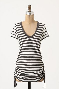 Squeezed Stripes Tunic #anthropologie