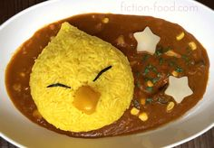 """Food Adventures (in fiction!): Chocobo Curry for """"Final Fantasy"""""""