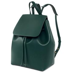 #MansurGavriel #Backpack #Green #Moss #Leather