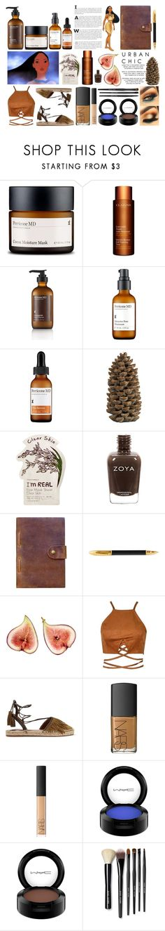 """""""Pocahontas 💗"""" by montanaxo ❤ liked on Polyvore featuring beauty, Perricone MD, Clarins, Crate and Barrel, Tony Moly, Rear View Prints, Sugar Paper, Aquazzura, NARS Cosmetics and MAC Cosmetics"""