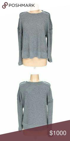 ❤Nwt ZaRA Round Neck  Sweater New Gray sweater by zara Zara Tops