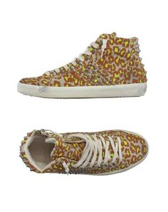Home :: Trainers :: LEATHER CROWN FOOTWEAR High-tops & trainers Women canvas logo studs leopard design zip closure round toeline rubber sole flat. Size: 6. Price: £117.00 Buy More information