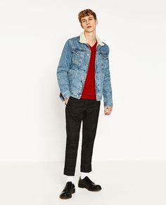 Image 1 of CHECK TROUSERS from Zara