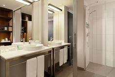 Guest bathroom- Aloft Munich