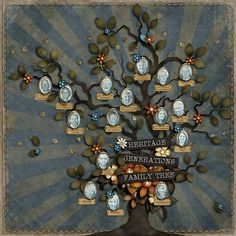 A Project by kahoogstad from our Scrapbooking Gallery originally submitted at PM Make A Family Tree, All In The Family, Family Trees, Scrapbook Sketches, Scrapbook Pages, Scrapbook Layouts, Heritage Scrapbooking, Picture Albums, Family Genealogy