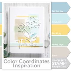 Welcome to the blog my friends! It's Shari here with a new color coordinate combination. I have been waiting to …
