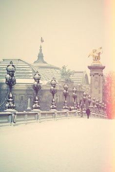Let it snow... Paris, France