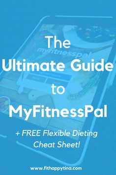 The Ultimate Guide to MyFitnessPal | It's always great to keep a food diary, to stay on track with your eating. Check out this awesome article that shows you the ins and outs (plus a few secrets) to help you track your food! Plus get a FREE cheat sheet!