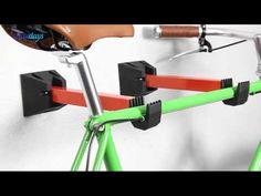 Fahrradhalter 2er Set klappbar für Wandmontage - YouTube