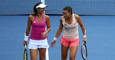 US Open 2014: Doubles run sees Martina Hingis reach first major final since 2002
