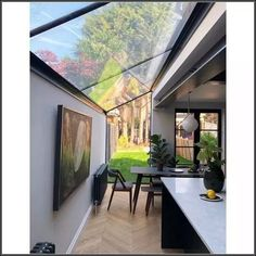 30 creatively industrial interior design ideas for house or office 15 « A Virtual Zone House Extension Design, Extension Designs, Glass Extension, Side Extension, Extension Ideas, Kitchen Extension Side Return, Kitchen Diner Extension, Kitchen Extension Roof Lights, Open Plan Kitchen Living Room