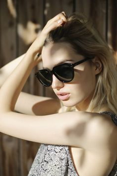 Vast Minority draws it pedigree from the classic frames from another era. Angular details are balanced with a rounder lens shape. Each frame is handcrafted by artisans in Italy using rich Mazzucchelli Italian Acetate.  #sunglasses
