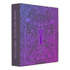 Customizable Dragon Face Binder Purple-grade black Nerd Gifts, Cool Gifts, Dragon Tattoo Art, Cool Office Supplies, Dragon Face, Scary Faces, Black Dragon, Binder Design, Custom Binders