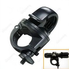 Linterna del sostenedor del montaje para la antorcha del Clip LED para bicicleta