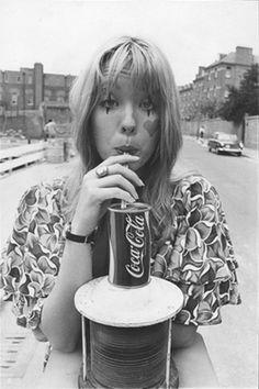 (Photographer unknown). Pamela des Barres. Not dated.