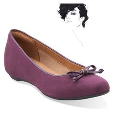 """""""Clarks Flat Shoes"""" by we-enjoy on Polyvore featuring Clarks"""