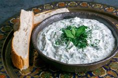 Tzatziki makes a brilliant party dip served with salads or kebabs. Here, Leyla Kazim shows you how to make the best basic tzatziki.