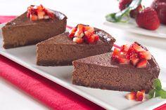 Chocolate con frutillas  Para conocer su #receta hacé click en la imagen
