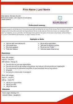 Free Online Resume Builder Printable Olga Meir Balberan Balberanolga On Pinterest
