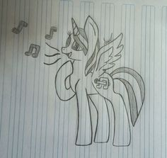 My oc Music Star :3 for the contest by: Avril M. No repins plz!