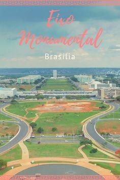 Por ser a capital do país, Brasília é sede dos Três Poderes do Estado: Poder Legislativo, Judiciário e Executivo. Os principais prédios do Governo se concentram no miolo da cidade: no Eixo Monumental que vai da Praça dos Três Poderes ao Palácio do Buriti.