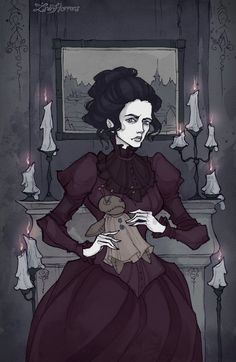 Dark fantasy, gothic stuff, gloomy tales Current Residence: Moscow I was graduated from Moscow State University of Printing Arts as an illustrator. My heart beats for all things gloomy, beautiful a...