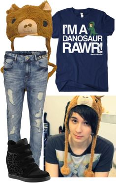 """""""Danisnotonfire"""" by onedirectionlover99-872 ❤ liked on Polyvore"""
