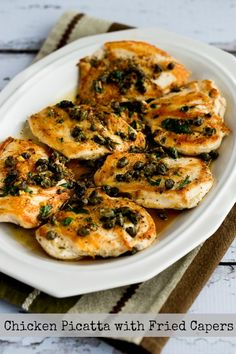 capers braised chicken with capers and parsley lemon chicken breasts ...
