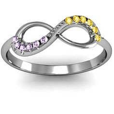 Infinity Accent Ring #jewlr