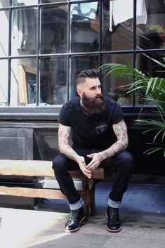 Tattoo Lust: Beards & Tattoos VI | Fonda LaShay // Design → more on fondalashay.com/blog