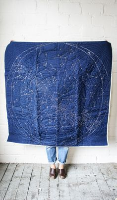 I absolutely must have this! Wish that it came in black -- Haptic Lab Constellation Quilt